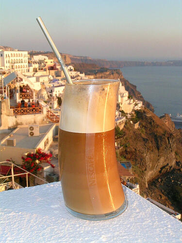 How to make a Greek Frappe?