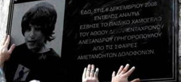 Yunanistan'da 6 Aralık Alexis isyanı
