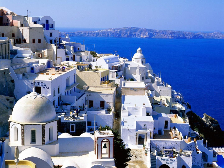 Dünyanın en güzel adası Santorini