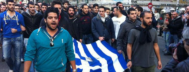 Yunanistan'da 17 Kasım Ayaklanması