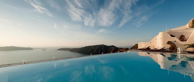 Dünyanın en iyi moteli Santorini'de