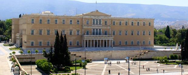 Yunanistan parlamento binası