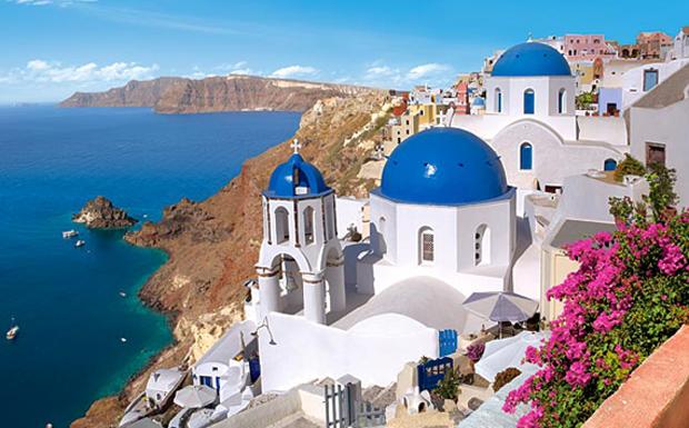 Santorini'de Devrialem