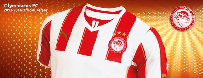 Olympiakos 2013-2014 futbol takımı formaları
