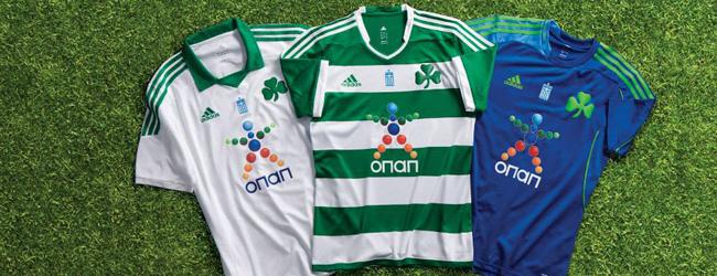 Panathinaikos 2013-2014 futbol takımı formaları