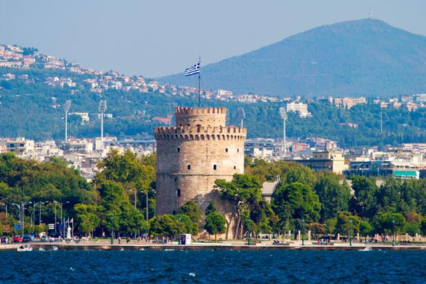 White Tower in Thessaloniki, Greece