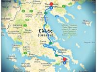 Yunanistan'da Şehirler Arası Mesafe Hesaplama