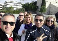İlk Olimpiyatların Yapıldığı Kalimarmara Stadı Önü