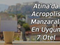 Atina'da Acropolis Manzaralı En Uygun 7 Otel