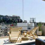 Atina'da BALKONLU VE MANZARALI Airbnb Evleri