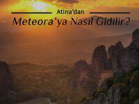 Atina'dan Günübirlik METEORA'ya Nasıl Gidilir?