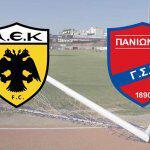 AEK ve Panionios Takımları Arasındaki Türkiye Kavgası