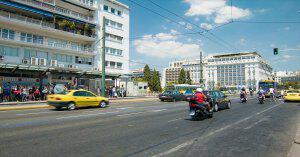 Atina Merkezde Araçlara Tek-Çift Plaka Uygulaması