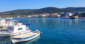 Bakir Plajlarıyla Bilinen ve Pek De Turistik Olmayan Agistri Adası