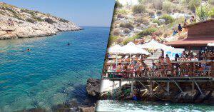 Atina'dan 30 Dakika Uzaklıkta Denize Gireceğiniz Enfes Koy